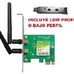 TARJETA DE RED PCI EXPRESS X1 INALAMBRICA TP-LINK TL-WN881ND WIRELESS 802.11N/G/B 300MBPS 2 ANTENAS DESMON 2DBI