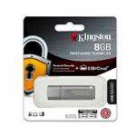 MEMORIA KINGSTON 8GB USB 3.0 DATATRAVELER LOCKER G3 /HARDWARE DE ENCRIPTACIN /USB TO CLOUD/ GRIS